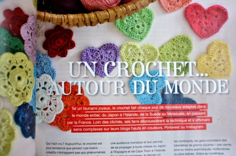julie adore flow magazine article crochet